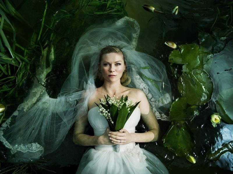 Kirsten Dunst vo filme Melancholia