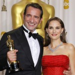 Jean Dujardin s hereckou kolegyňou Natalie Portman