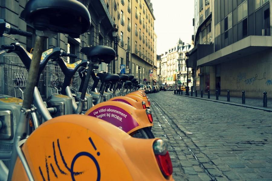 V meste si môžete požičať bicykel.