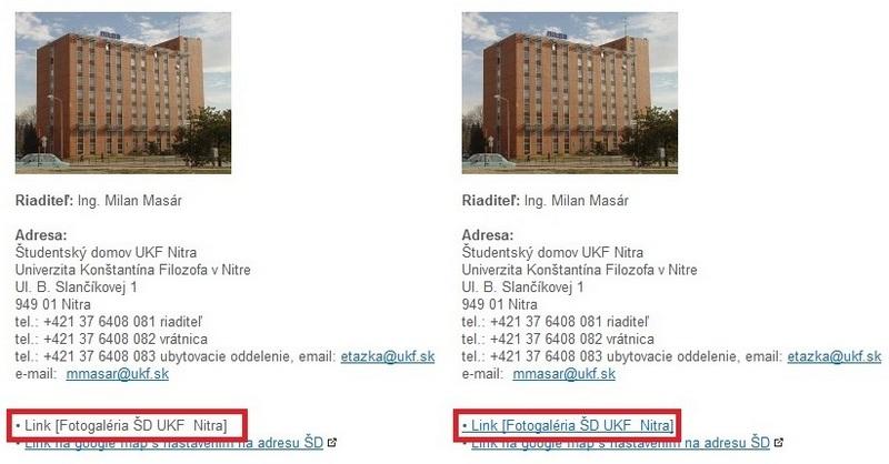 Porovnanie stavu na webe UKF
