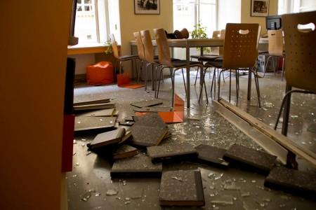 Výbuch v Prahe 2