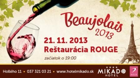 Beaujolais ochutnávka vín, zdroj visitnitra.eu