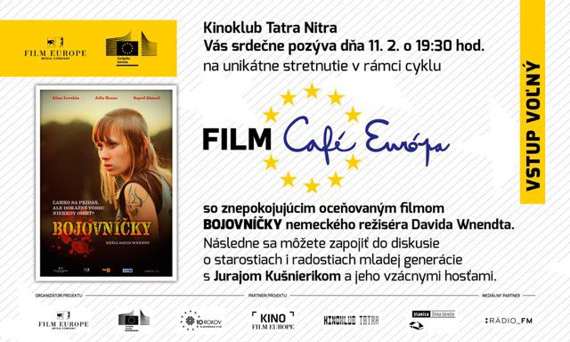 3fad8b710 Tento film bude premietnutý v utorok 11. februára v Kinoklube Tatra Nitra,  v stredu 12. februára v Kine Film Europe v Bratislave a vo štvrtok 13.  februára ...