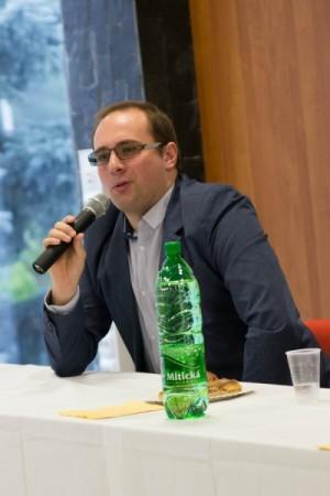 Šéfredaktor internetového portálu hokejportal.net Pavol Rajtar