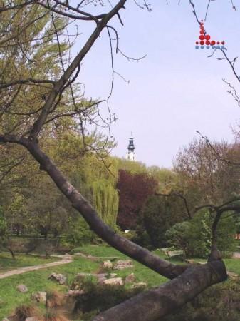 Mestský park v Nitre