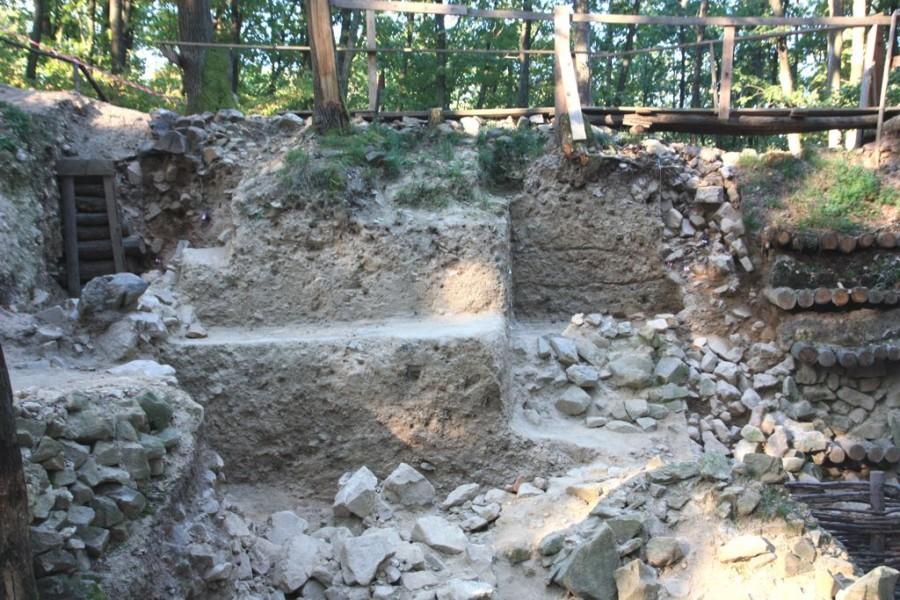 Pozostatky veže v Bojnej