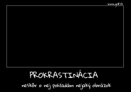 prokrastinácia