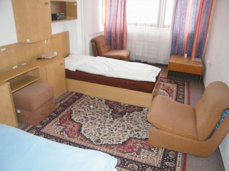 4-posteľová izba pre študentov v hoteli Agroinštitút