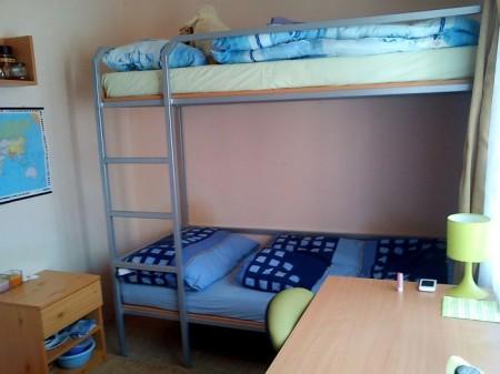 Zrekonštruovaná izba na Hospodári