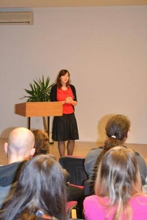 Andrea Hugáňová, štatutárna zástupkyňa Združenia STORM