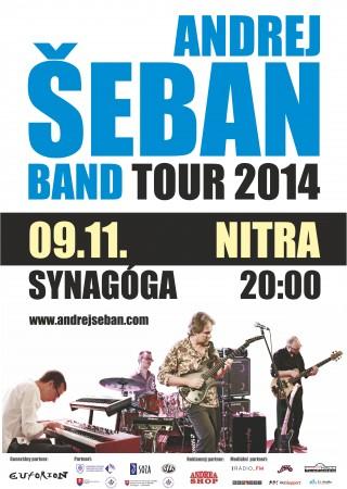 Andrej Šeban Band v Nitre