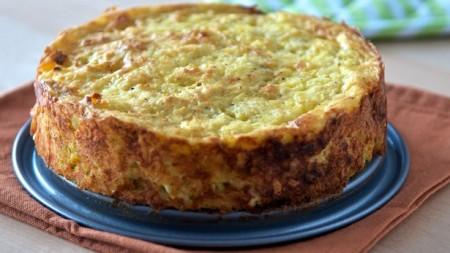 Patatnik, bulharský zemiakový koláč