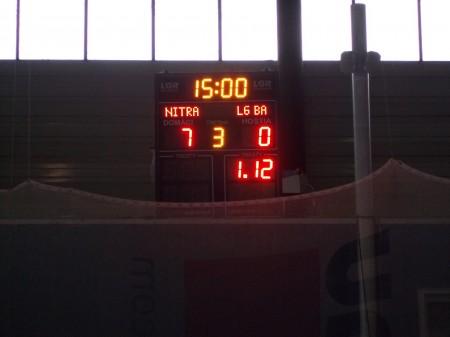 Ukazovateľ skóre sa zastavil na čísle sedem