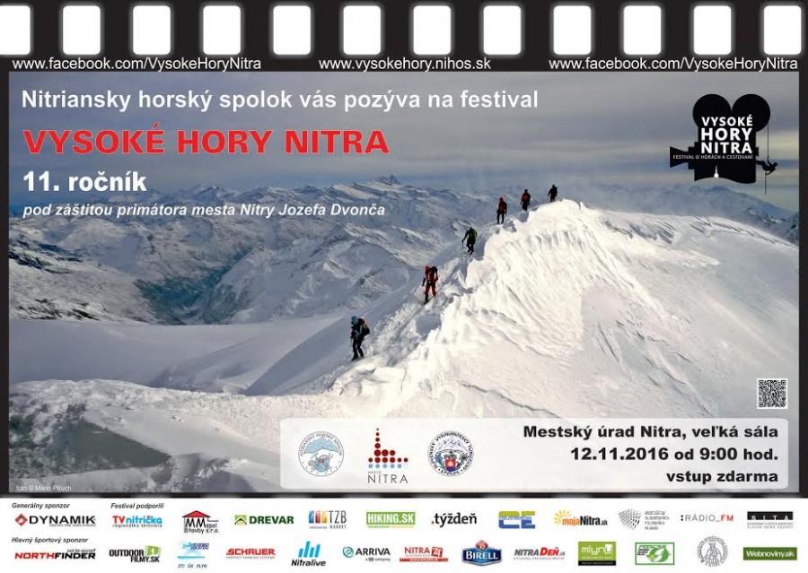 Plagát VHN Nitra na rok 2016
