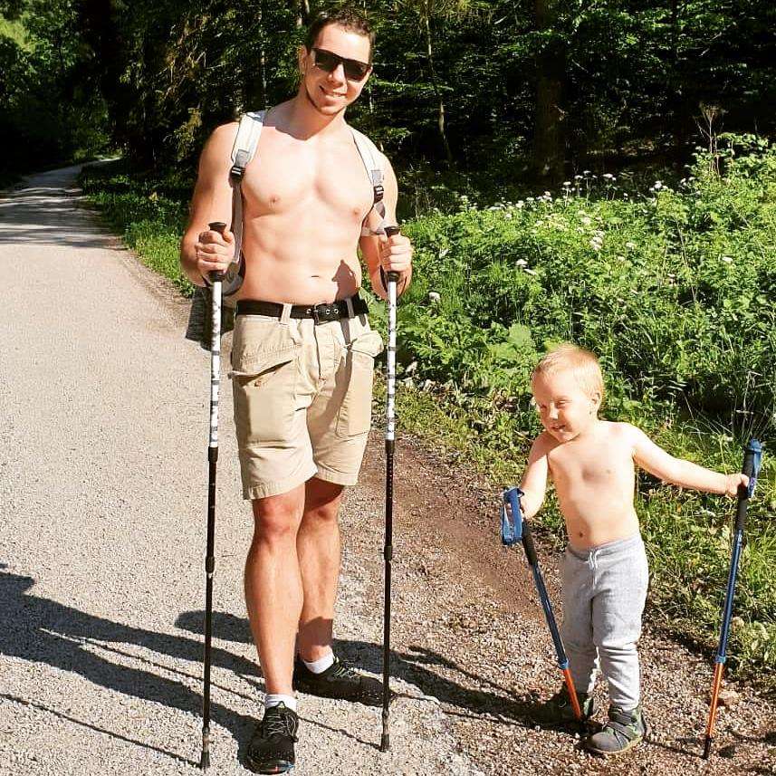 juraj pacík so synom